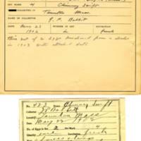 Thomas Wilmer Dewing, egg card # 324