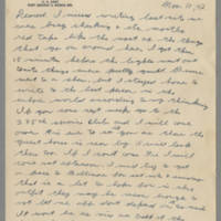 1942-11-11 Lloyd Davis to Laura Davis Page 1
