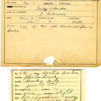 Thomas Wilmer Dewing, egg card # 473