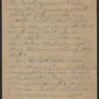 1919-02-24 Thomas Messenger to Mrs. Vera Wade Page 2