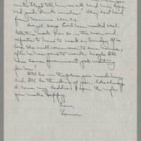 1943-01-29 Laura Davis to Lloyd Davis Page 3