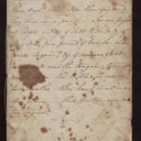 English cookbook, ca. 1824