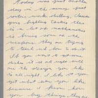 1942-09-10 Lloyd Davis to Laura Davis Page 1