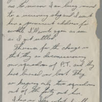 1945-10-28 Wayne E. Davis to Dave Elder Page 1