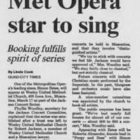 """1987-03-07 """"""""Met Opera star to sing"""""""""""