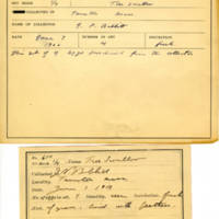 Thomas Wilmer Dewing, egg card # 753u