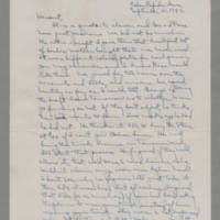 1942-09-21 Laura Davis to Lloyd Davis Page 1