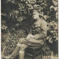 1927-09-21 Postcard: Robert M. Browning to Mr. Karl S. Hoffman