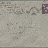 1944-02-10 Helen Fox to Bess Peebles Fox Page 4 - Envelope