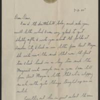 1945-07-02 Dave Neiswanger to Dave Elder Page 1