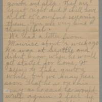 1945-11-22 Letter to Laura Frances Davis Page 2