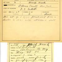 Thomas Wilmer Dewing, egg card # 653u