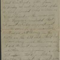 1919-01-17 Harvey Wertz to Miss Dorothy Wertz Page 2