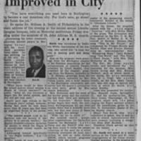 "1953-02-14 Burlington Hawkeye Gazette Article: ""Race Relations Held Improved in City"""