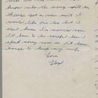 1942-01-22 Lloyd Davis to Laura Davis Page 3