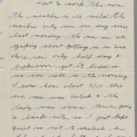 1942-01-13 Lloyd Davis to Laura Davis Page 1