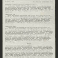 "1969-03-26 Newsletter: """"LULAC Glances"""" Page 1"