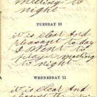 1863-11-09 -- 1863-11-11