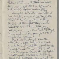 1943-01-14 Laura Davis to Lloyd Davis Page 2