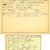 Thomas Wilmer Dewing, egg card # 285