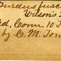 Clinton Mellen Jones, egg card # 337