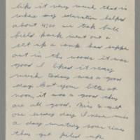 1942-09-23 Lloyd Davis to Laura Davis Page 1