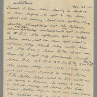 1942-11-28 Lloyd Davis to Laura Davis Page 1