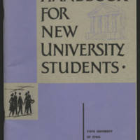 Handbook for New University Students Fall 1963-64