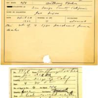Thomas Wilmer Dewing, egg card # 477