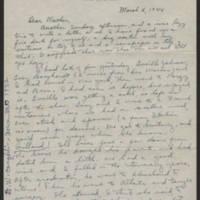 1944-03-05 Helen Fox to Bess Peebles Fox Page 1