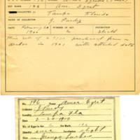 Thomas Wilmer Dewing, egg card # 143