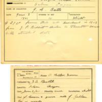 Thomas Wilmer Dewing, egg card # 195