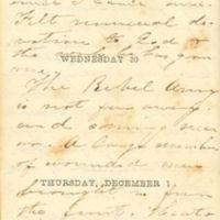 1864-11-29 -- 1864-12-01