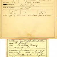 Thomas Wilmer Dewing, egg card # 774u
