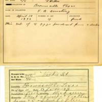 Thomas Wilmer Dewing, egg card # 825u