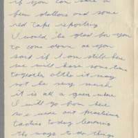 1942-09-11 Lloyd Davis to Laura Davis Page 2