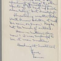 1942-01-27 Laura Davis to Lloyd Davis Page 3