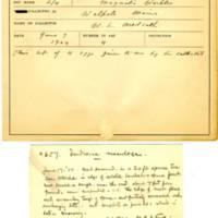 Thomas Wilmer Dewing, egg card # 529