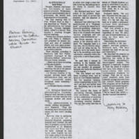 "1973-09-13 Daily Iowan Article: Chicanos give grievances to university administration"""" by Steve Helle"