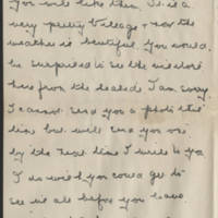 1919-04-22 Letter from Lizzie Wright Page 2