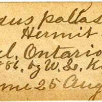 Clinton Mellen Jones, egg card # 329