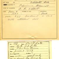 Thomas Wilmer Dewing, egg card # 099