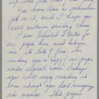 1945-08-23 Margaret J. Hanson to Mr. Dave Elder Page 2