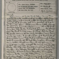1943-04-27 Laura Davis to Lloyd Davis