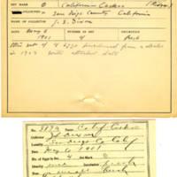 Thomas Wilmer Dewing, egg card # 273