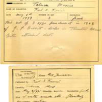 Thomas Wilmer Dewing, egg card # 186