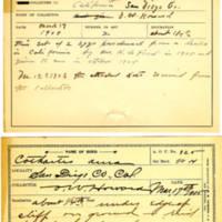 Thomas Wilmer Dewing, egg card # 213