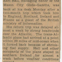 1944-11-18 Lt. L.E. Hilsabeck to W. Earl Hall Page 5