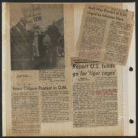 1971-02-26 'Iowa Citians Protest in D.M.'