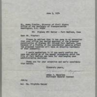 1974-06-03 James I. Meyerson to Mr. James Frazier